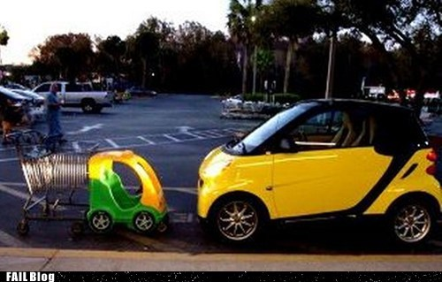 cars,design,inspiration,kiddie toy,shopping cart,smart car,toy