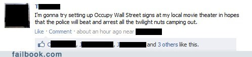 camping Occupy Wall Street ows premier twilight - 5447686144