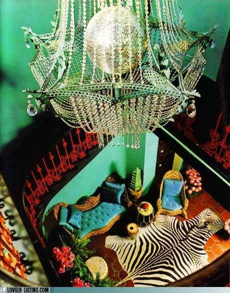chandelier disco ball rich zebra - 5447848960