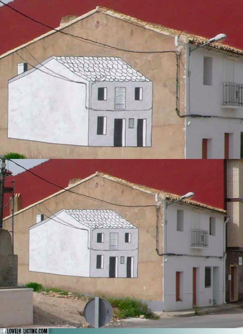drawing,house,meta,mural,paint,wall