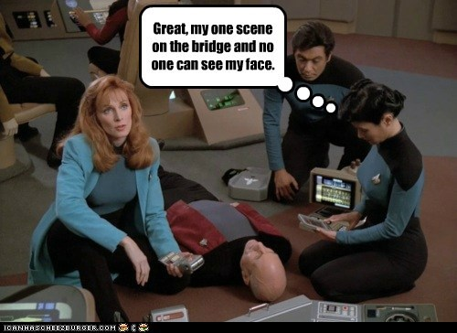 doctor beverly crusher,gates mcfadden,patrick,Star Trek