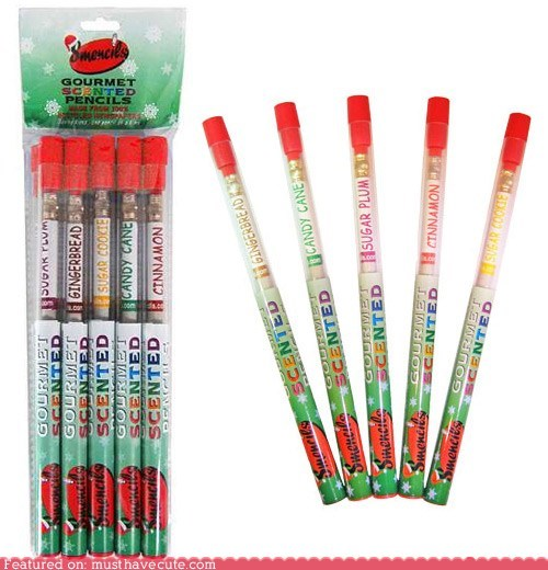 gift guide gourmet holidays pencils scented - 5447895552