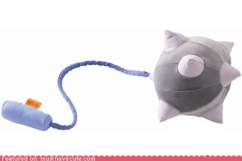 mace Pillow Plush soft weapon - 5447908608