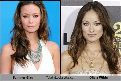 actor,celeb,funny,olivia wilde,summer glau,TLL