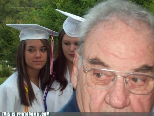 Awkward dad graduation picture - 5448055040