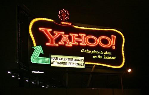 neon billboard,Nerd News,san francisco,yahoo