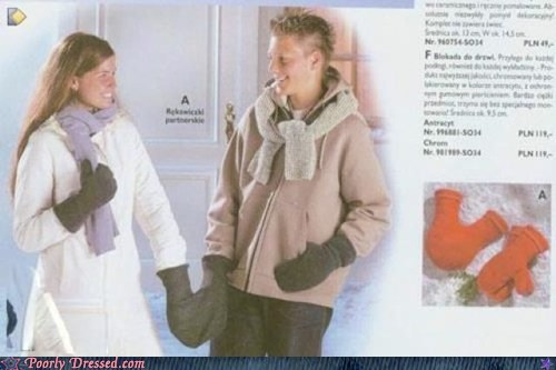 classic hand holding mittens mittens Winter Is Coming winter weird - 5448191744