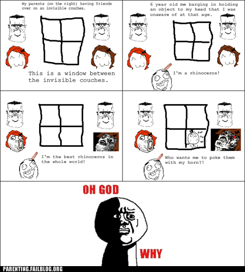 family,oh god why,Parenting Fail,rage comic,rhinoceros,sex toy,whoops