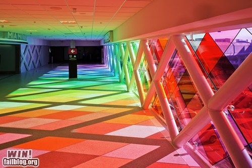 All the Colors of the Rainbow,art,glass,installation,light,pretty colors,rainbow,shadow,window