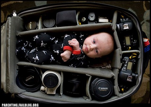 baby,camera,cute,lens,pack,Parenting Fail,photography,portable