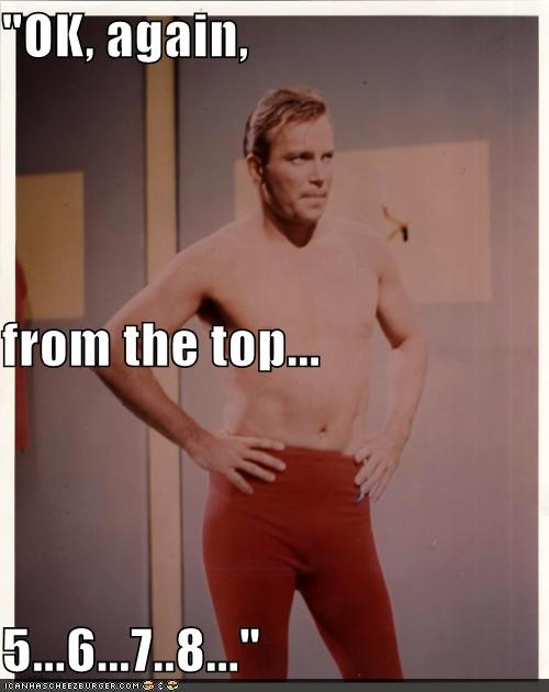Captain Kirk,dance,Shatnerday,Star Trek,William Shatner