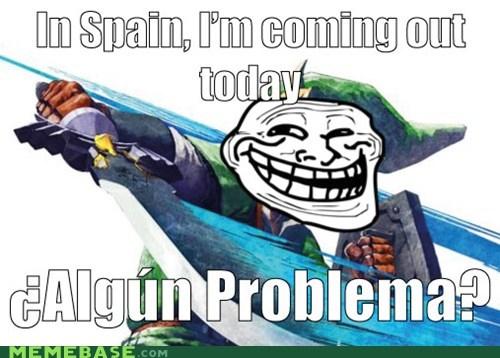 link Spain troll face video games zelda - 5448811776
