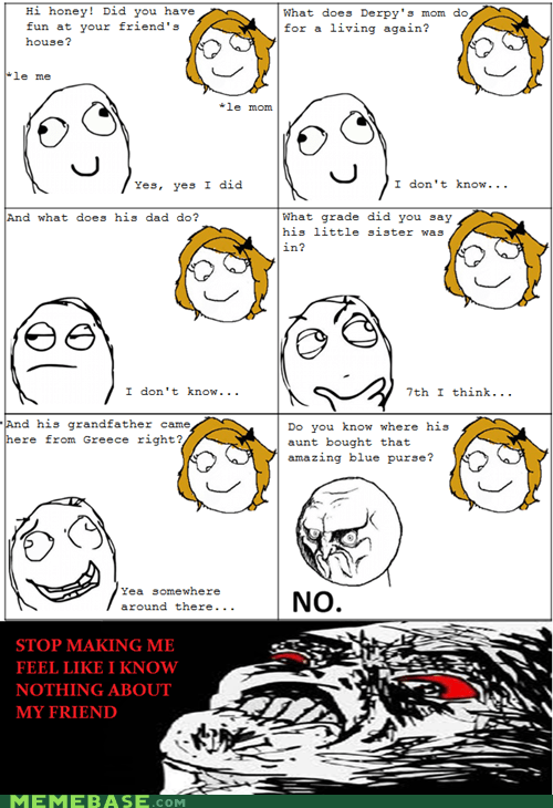 friends,knowledge,parents,Rage Comics