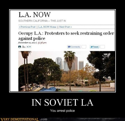 IN SOVIET LA You arrest police