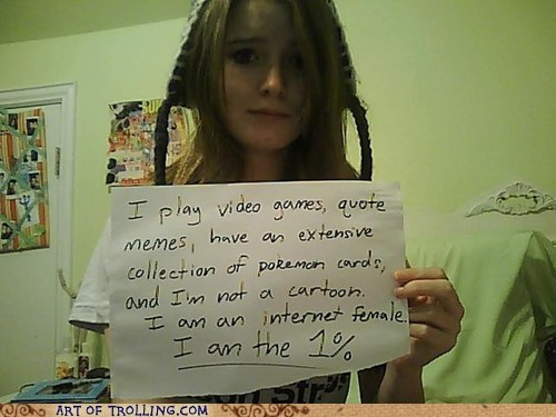 definitely part of the 99 percent girls on the internet IRL Occupy Wall Street - 5449454080