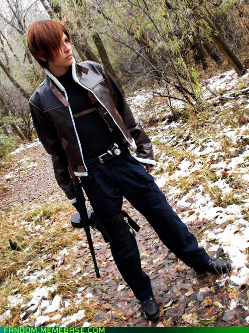 cosplay Leon Scott Kennedy resident evil video games - 5449617664