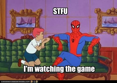 football,game,kids,Spider-Man,sports,stfu