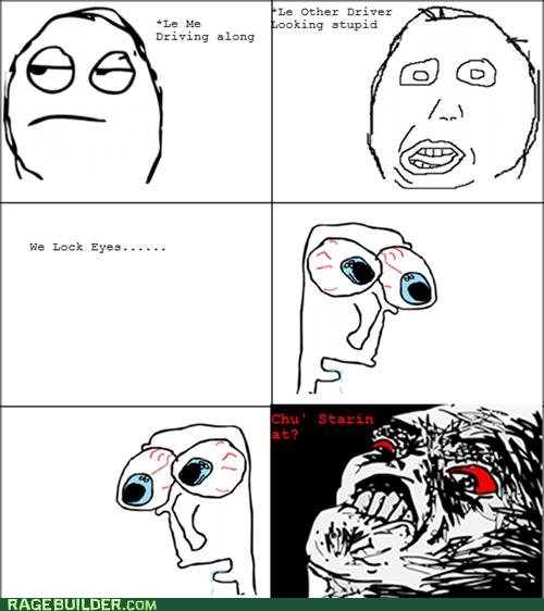 Driver rage