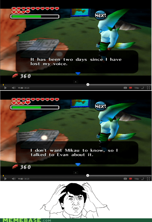 logic Rage Comics video games voice zelda zora - 5450382080