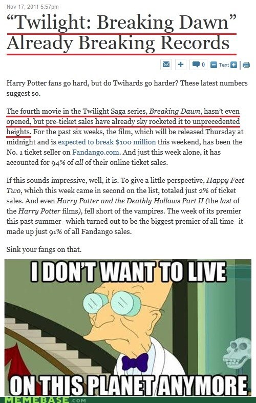 box office,breaking dawn,girls are the worst,i dont want to live on this planet anymore,movies,records,twilight,vampires