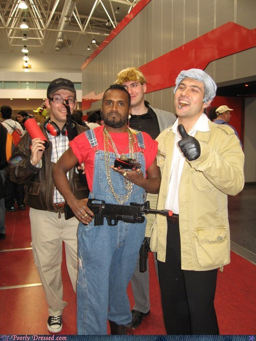 A Team cosplay face hannibal mr t