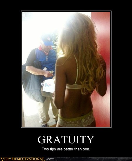 gratuity,hilarious,Sexy Ladies,two tips