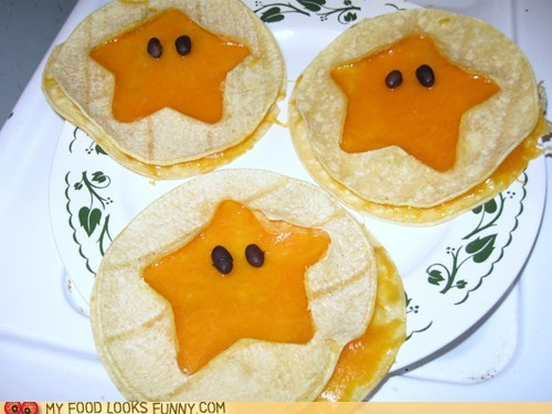 beans cheese invincible mario quesadillas stars tortillas - 5451020032