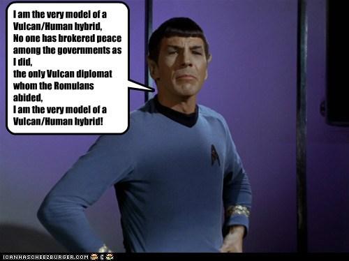 Leonard Nimoy major general mordin solus pirates Spock Star Trek - 5451045376