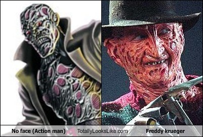 action man,freddy krueger,funny,no face,TLL