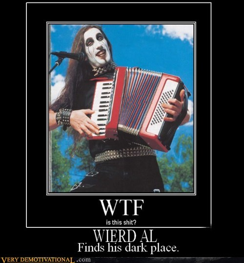 accordian goth hilarious weird al - 5451084544