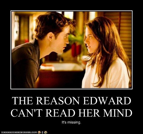bella swan edward cullen kristen stewart mind missing reason robert pattinson twilight - 5451307264