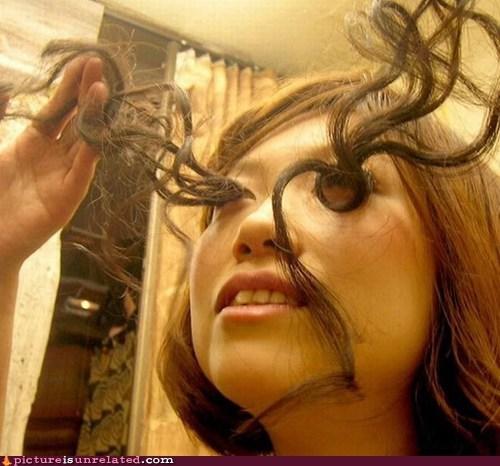 eyelashes eyes hair wtf - 5451691264