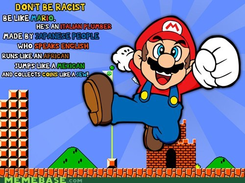 english jew jump koopas mario Memes racist video games - 5451704832