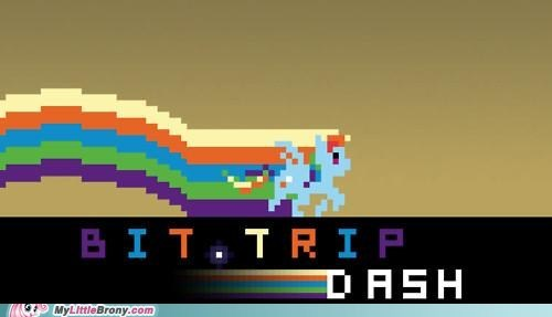 20 Percent Cooler bit.trip rainbow dash video games - 5451959296