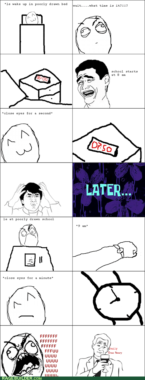 best of week naps Rage Comics sleep time - 5452015104