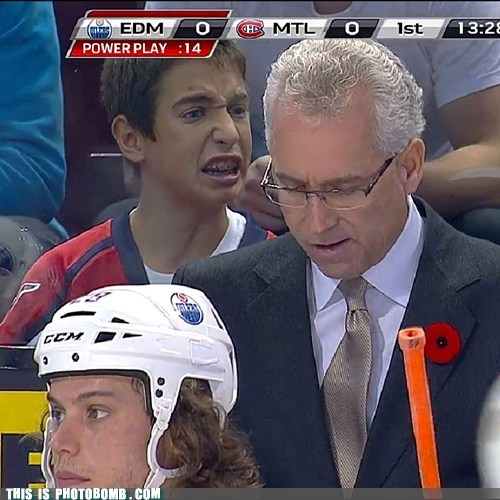 best of week braces coaching disgusted hockey kid Perfect Timing sports - 5452048896