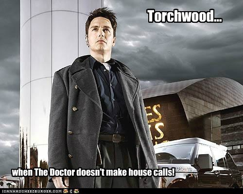 Captain Jack Harkness house calls john barrowman the doctor Torchwood - 5452052224