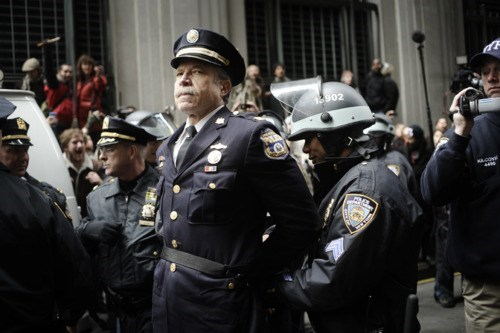 Day of Action,Iconic Cop,Occupy Wall Street,Ray Lewis