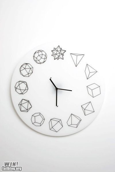 clock design geometry math nerdgasm polygon time - 5452374272