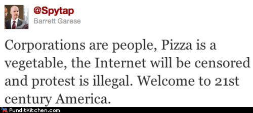 america,Congress,internet,Occupy Wall Street,pizza,political pictures,Protest,united states
