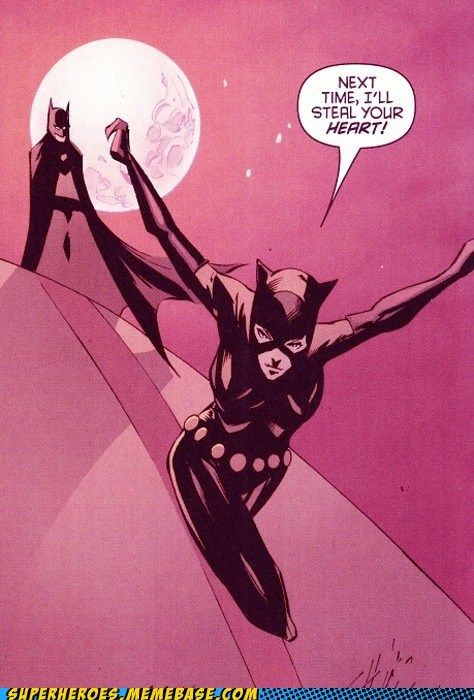 batman catwoman diamond heart stealing Straight off the Page - 5452427776