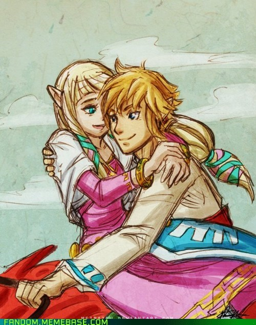 Fan Art legend of zelda Skyward Sword video games - 5452502784