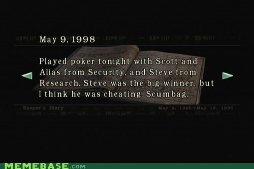 cheating journal Scumbag Steve umbrella video games - 5452738304