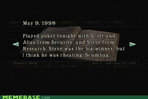 cheating journal Scumbag Steve umbrella video games - 5452738304