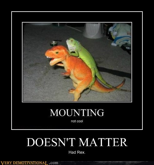 dinosaur doesnt matter hilarious lizard sexy times - 5452738560