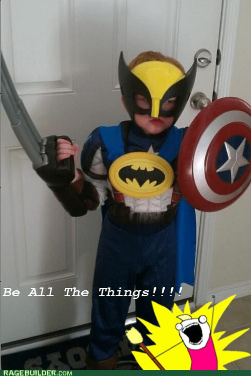 batman,best of week,captain america,costume,kid,Super Costume,wolverine