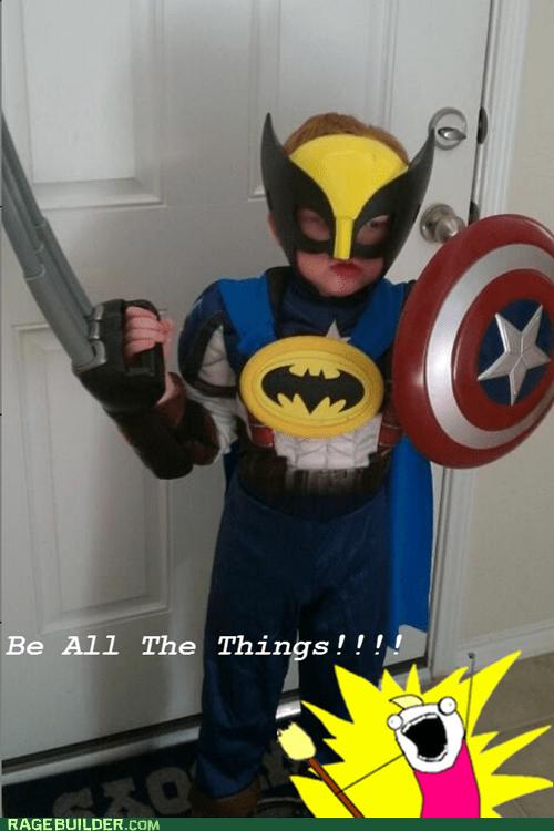 batman best of week captain america costume kid Super Costume wolverine - 5452949248
