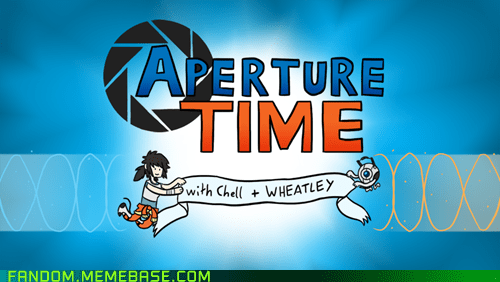 adventure time,aperture science,best of week,crossover,Fan Art,fandom,Memes,Portal,video games