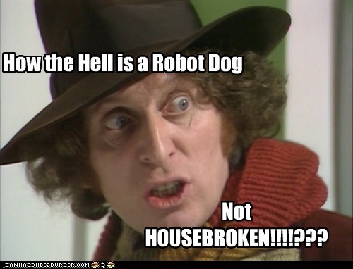 doctor who,dogs,k-9,robot,the doctor,tom baker