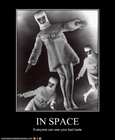 bad taste,fashion,historic lols,outer space,space,space suit,spacesuit,ugly clothes,vintage,women